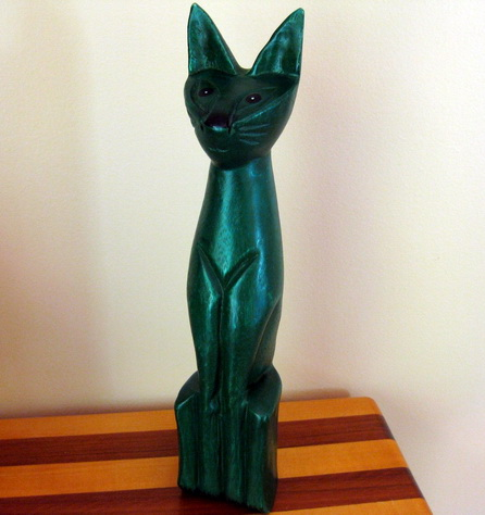 Siamese Cat Sculpture